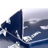 Gloss laminated white corrugated card mailing box Ref. CV Library