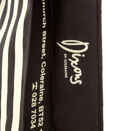 Non-Woven Flat Handle Carrier Bag Ref. Dixons