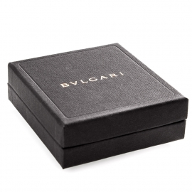 Two Piece Unlaminated Debossed Jewellery Box Ref. Bvlgari