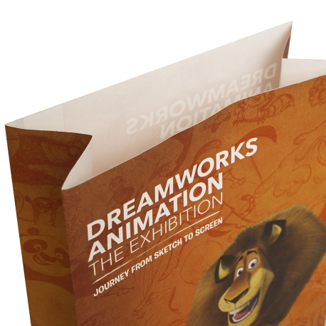 Full Colour Handleless Carrier Bag – Ref. DreamWorks Animation – Madagascar
