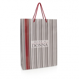 Luxury Rope Handle Printed Art Paper Bag – Ref. L'uomo Di Mara B