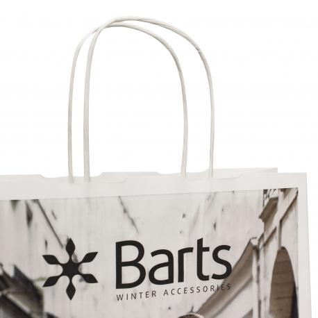 Laminated Twisted Handle Bag – Ref. Barts