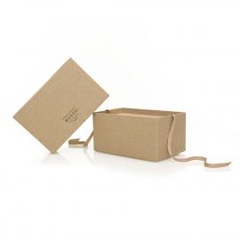 Printed Cotton Wrap 2-Piece Shoe Box – Ref. Francesco Russo