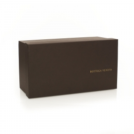 Embossed Buckram Brown Paper Shoe Box – Ref. Bottega Veneta
