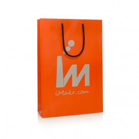 Matt Laminated Rope Handle Bag- Ref. iMakr