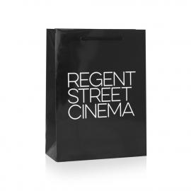 Gloss Laminated Paper Carrier Bag – Ref. Regent Street Cinema