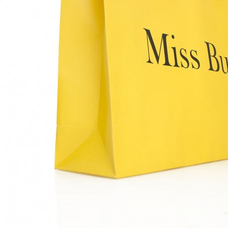 Matt Laminated Paper Carrier Bag – Ref. Miss Bush