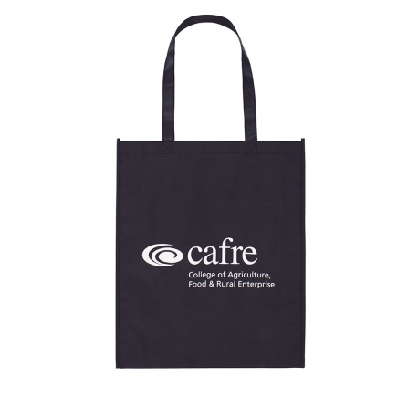 Custom Printed Non-Woven Carrier Bag – Ref. Cafre