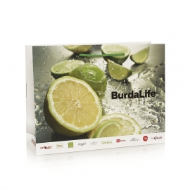 Spot UV Luxury Card Carrier Bag – Ref. BurdaLife