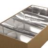 2 Piece Box with Food Grade Silver Card Insert – Ref. Halva