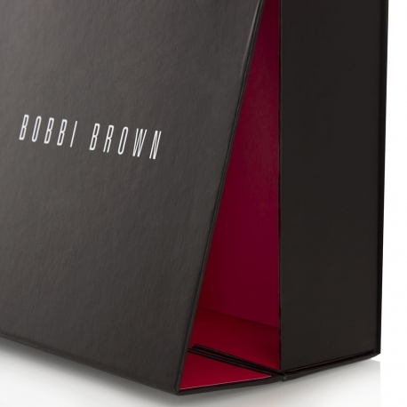 Matt Laminated Magnetic Seal Closure Box – Ref. Bobbi Brown
