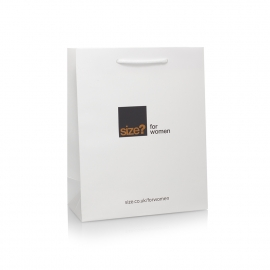 2 Colour Print Paper Carrier Bag Ref Size