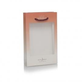 2 Colour Print Luxury Card Bag with PVC Window – Ref. Neäl & Wølf