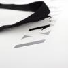 Black Grosgrain Ribbon Handle Carrier Bag– Ref. VAARA