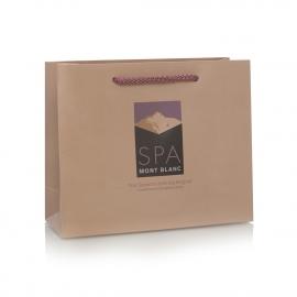 Gloss Laminated 4 Colour Print Bag– Ref. Spa Mont Blanc