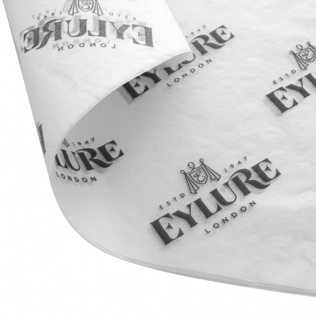 Custom Tissue Paper with Black Logo- Ref. Eylure
