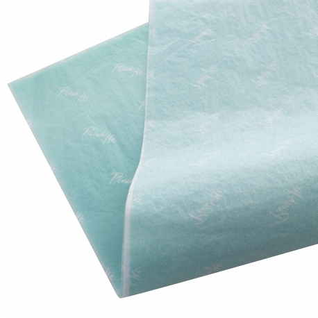 Printed Teal Tissue Paper - Ref. Ted Baker