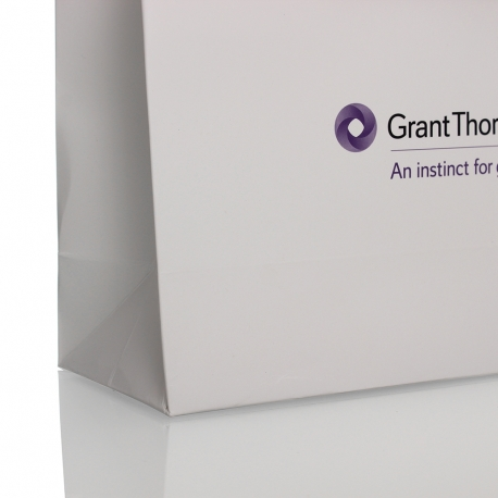 Luxury Card Paper Carrier Bag Ref. Grant Thornton