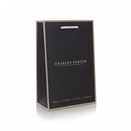 Luxury Paper Card Carrier Bag Ref. Charles Porter