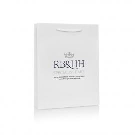 Luxury Paper Carrier Bag Ref RB&HH
