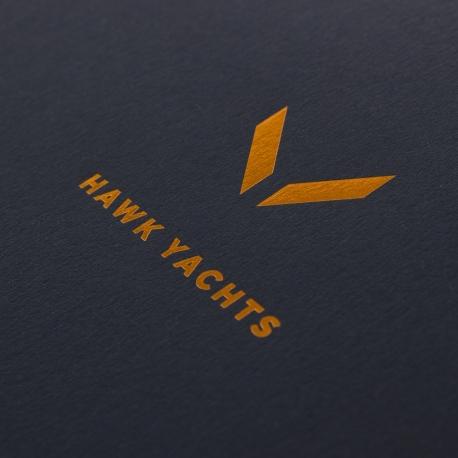 Luxury Printed Carrier Bag Ref Hawk Yachts