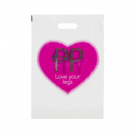 Bespoke Plastic Carrier Bag Ref Pretty Polly