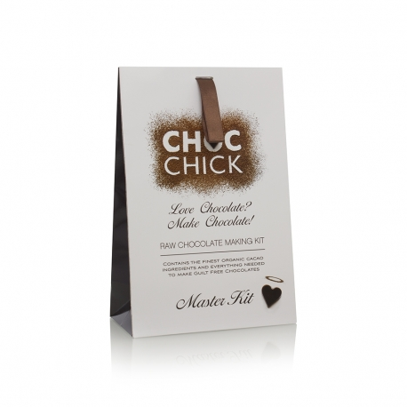Luxury Printed Carrier Bag Ref Choc Chick.