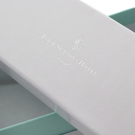 Luxury Bespoke Macaroon Box Ref Four Season