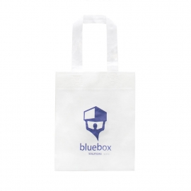Bespoke Luxury Non-Woven Carrier Bag Ref Blue Box