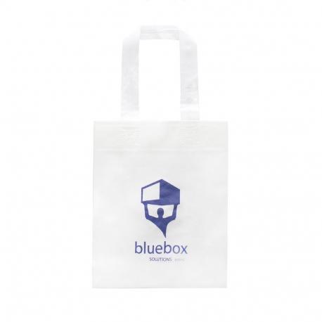 Bespoke Luxury Non-Woven Carrier Bag Ref Blue Box
