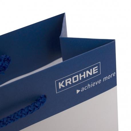 Luxury Printed Kraft Bag Ref Krohne