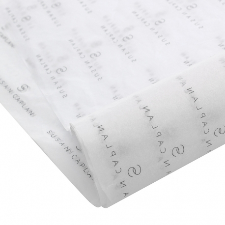 Bespoke Printed Tissue Paper Ref Susan Caplan.