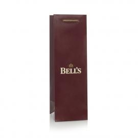 Luxury Printed Bottle Gift Bag Ref Bells
