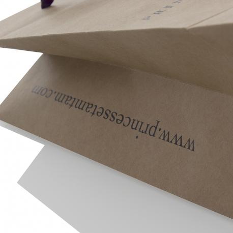 Luxury Print Kraft Paper Bag Ref Princesse Tam