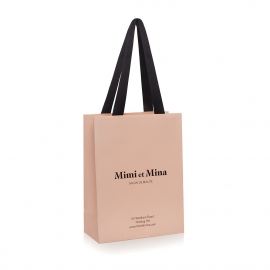 Luxury Bespoke Printed Carrier Bag Ref Mimi et Mina