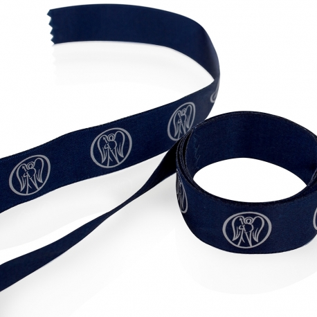 Bespoke Printed Satin Ribbon Ref Freshfields