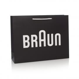 Bespoke Printed Carrier Bag Ref. Braun
