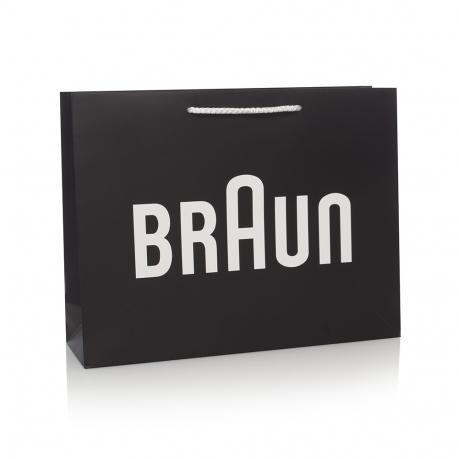Bespoke Printed Carrier Bag Ref. Braun