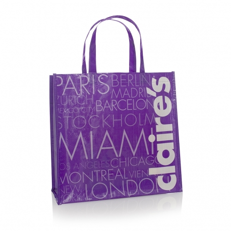 Bespoke Printed Woven Carrier Bag Ref Claire's
