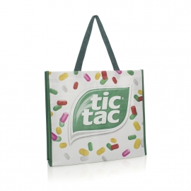 Luxury Bespoke Woven PP Bag For Life Ref Tic Tac