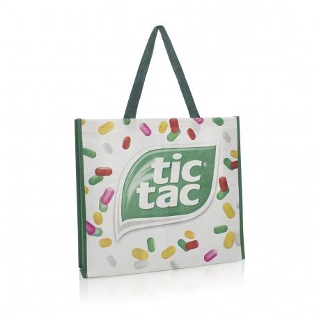 Luxury Bespoke Woven PP Bag For Life Ref Tic Tac