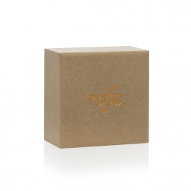 Luxury Bespoke Rigid Kraft Card Jewellery Box Ref Rofa