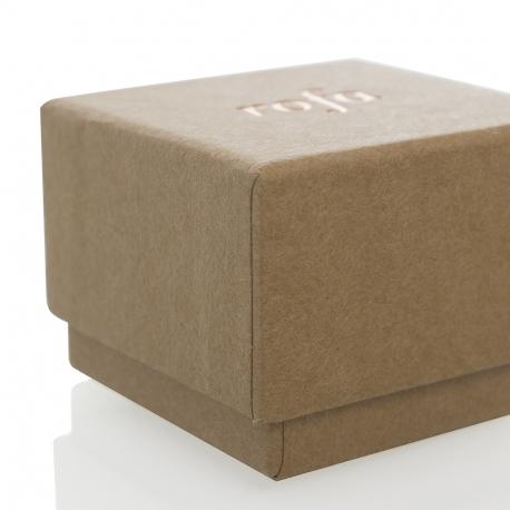 Luxury Bespoke Rigid Kraft Card Jewellery Box Ref Rofa