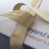 Bespoke Ribbon Seal Luxury Card Lunch Box Ref Blind Veterans