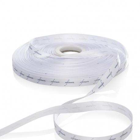 White Satin Ribbon Ref. Softshawls
