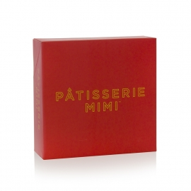 Full Colour Printed Large Cake Boxes ref. Patisserie Mimi