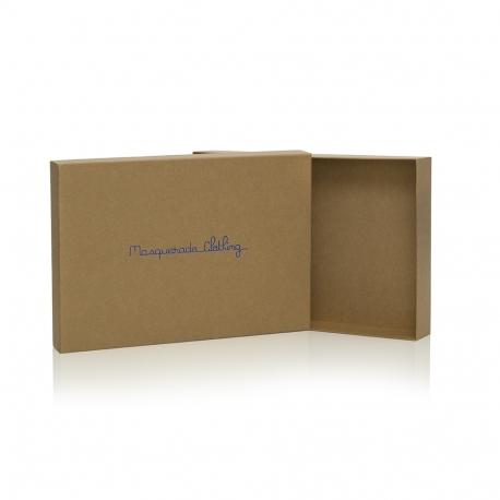 Luxury Kraft Rigid Card Box Ref Masquerade Clothing