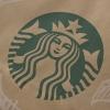 Bespoke Luxury Printed Twisted Handle Kraft Bag Ref Starbucks