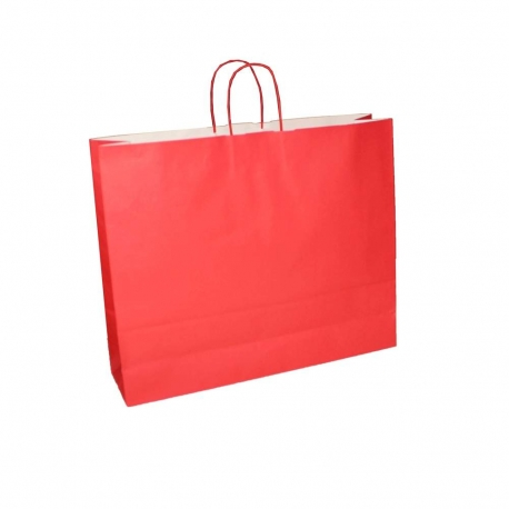 Red Paper Bags Twisted Handle Paper Bags Precious