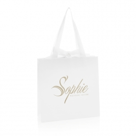 Bespoke Printed Wedding Carrier Bag Ref Sophie
